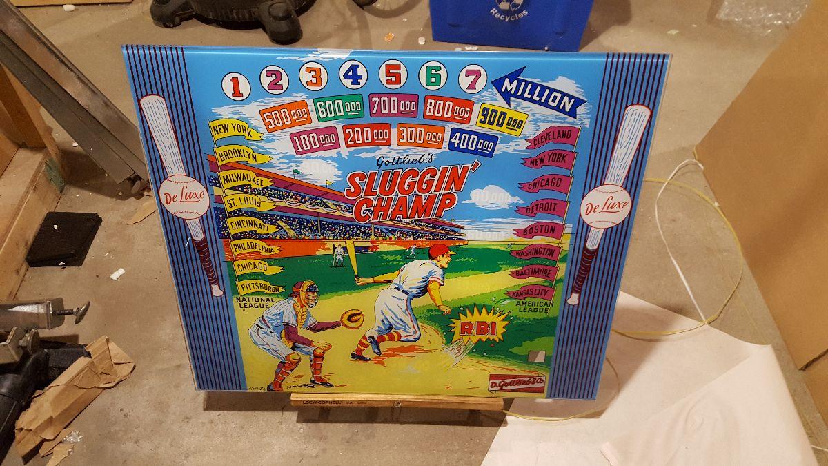 Champ pinball super kit 1963 Midway Race-Way