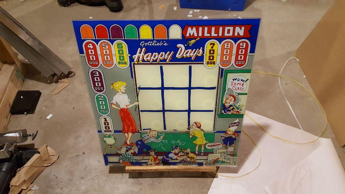 1949 Gottlieb Old Faithful pinball super kit